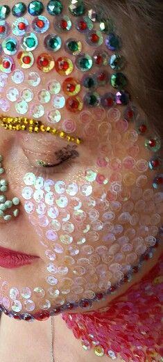Make up Artist diosa Hindú. Maquillaje Artístico Diosa Hindú