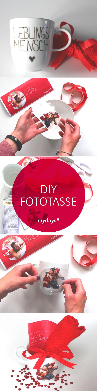 DIY Fototasse – Ein tiefsinniges Geschenk von Herzen