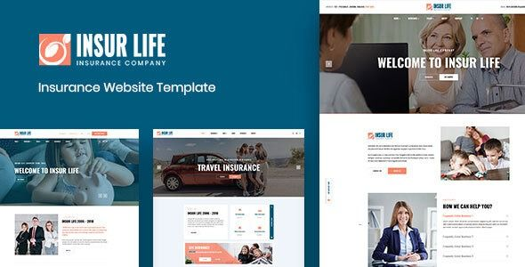Insurlife Insurance Company Html5 Template Columns4 Business