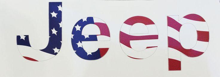 JEEP Renegade Cherokee Emblem Decal American Flag 3M CV3 USA | eBay Motors, Parts & Accessories, Car & Truck Parts | eBay!