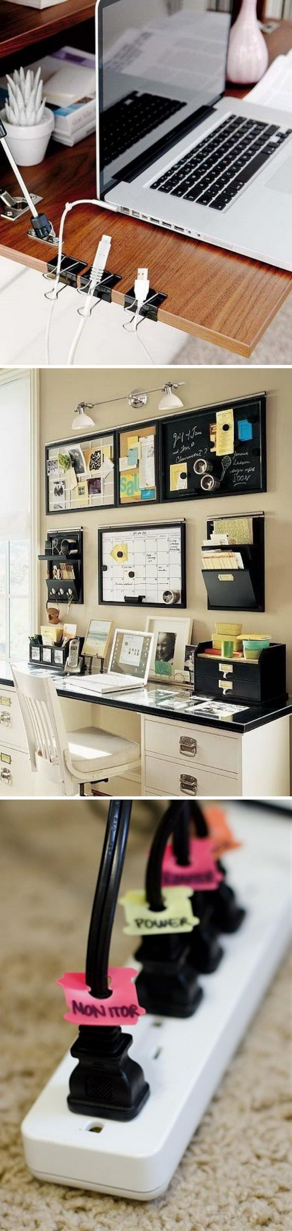 Effective Home Office Organization Ideas