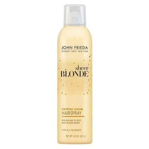 John Frieda Sheer Blonde Crystal Clear Shape & Shimmer Hairspray - Finalizador717226505249