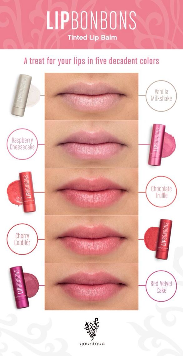 These Younique Lip Bonbons provide outstanding moisture while giving you a nice lip tint.
