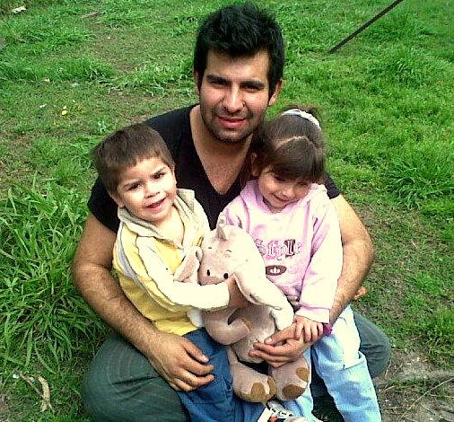Mis sobrinos Mateo y Luz