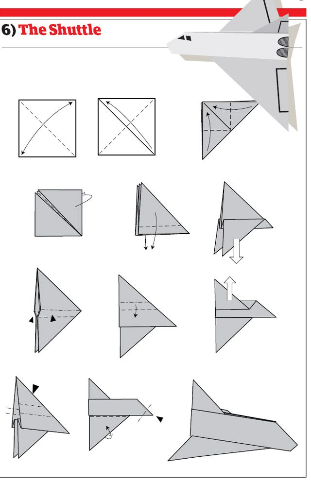 The Space Shuttle Paper Airplane... Making one as we speak....