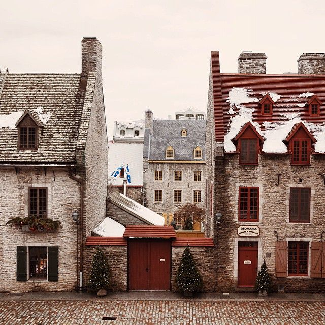Quebec City / photo by Virginia Mae Rollison