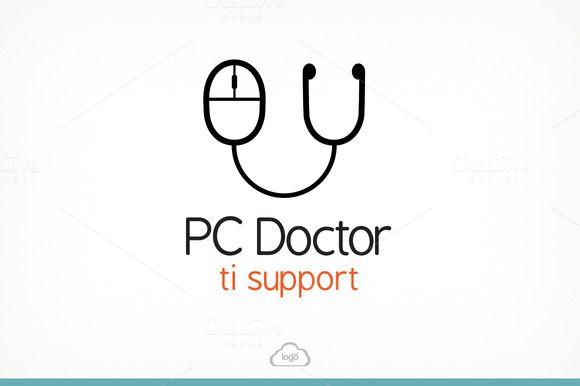 Check out PC Doctor Logo Template by Logo Heaven on Creative Market -> http://crtv.mk/pmKD