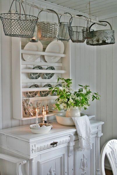 mer enn 25 bra ideer om küche deko shabby chic på pinterest | ikea