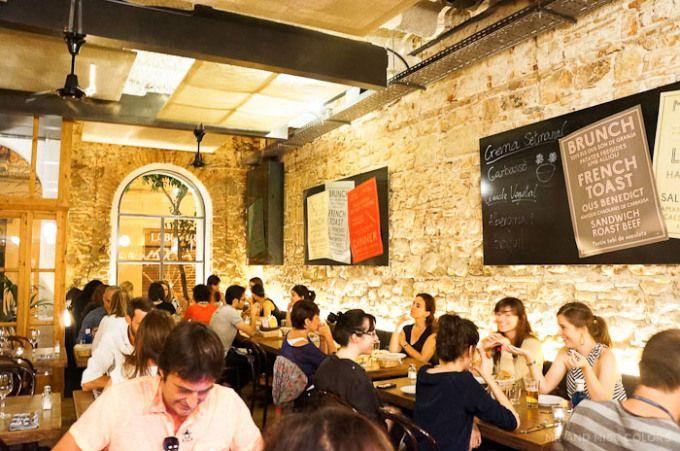 Cafe Restaurant Godot Barcelona Gràcia Sant Doménec, 19 (Gràcia), Barcelona