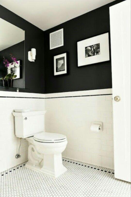 Azulejos De Baño Pintados | 13 Best Toilet Images On Pinterest Bathroom Downstairs Bathroom