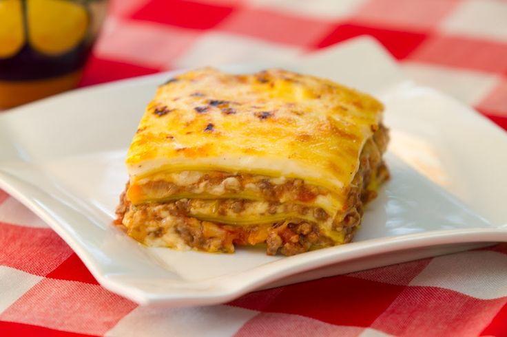 Receta Completa Lasaña Boloñesa o Lasagna Bolognese, Bechamel y Salsa Bo...