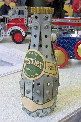 Meccano Bottle of Perrier by Chris Warren