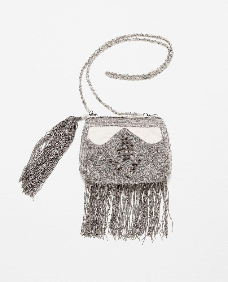Zara femme sac bandouli re avec franges xm pinterest sac bandouli r - Zara maison en ligne ...