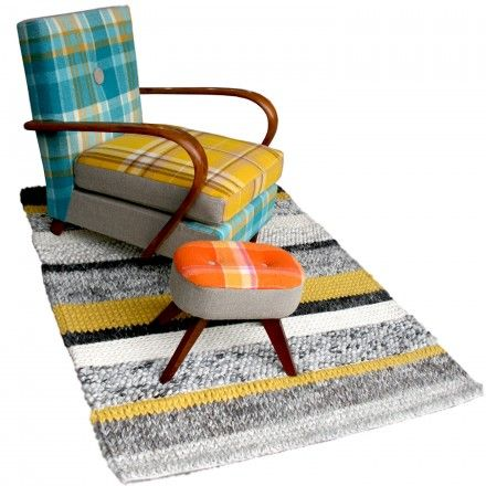 Henry blanket, chair and footstool. I would've called it Grandpa Harry, but whatevs @Meri Glavin Cherry