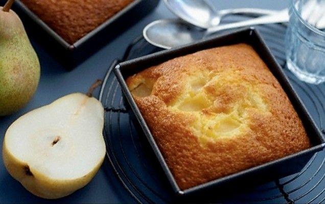 Κέικ με αχλάδι