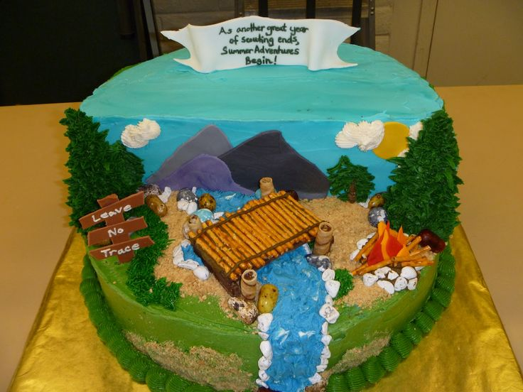 Cake Decorating Ideas For Boy Scouts : 24 best images about Cub Scout Cakes on Pinterest Scouts ...