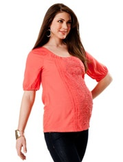 Favorite!! Elbow Sleeve Sleeve Detail Maternity Blouse http://www.destinationmaternity.com/maternity/sale-shirts-and-blouses.asp: Blouses, Detail Maternity, Sleeve Sleeve, Maternity Shirts, Elbow Sleeve