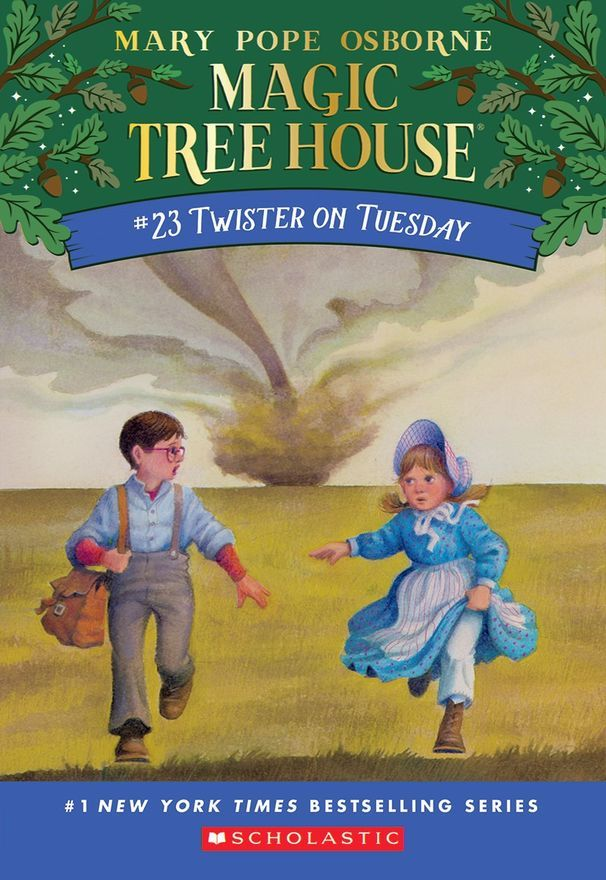 Magic Tree House 23 Twister On Tuesday Magic Treehouse
