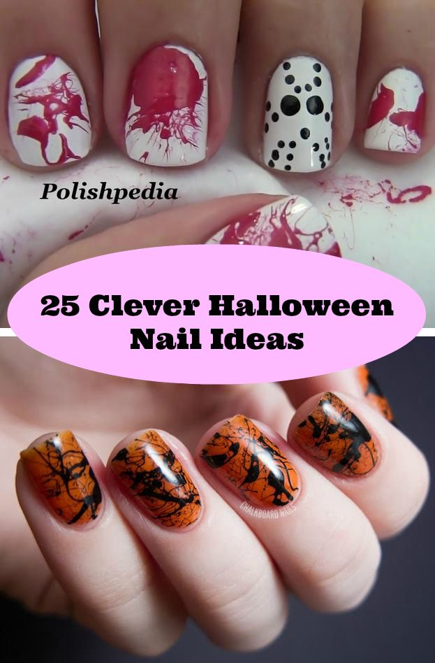 25 clever nail ideas for halloween nail design for 5280 best nail salon