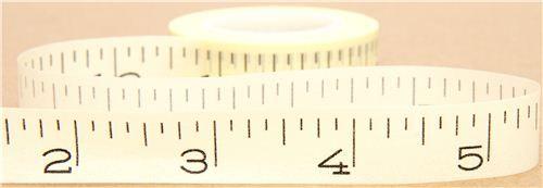 washi (measuring) tape