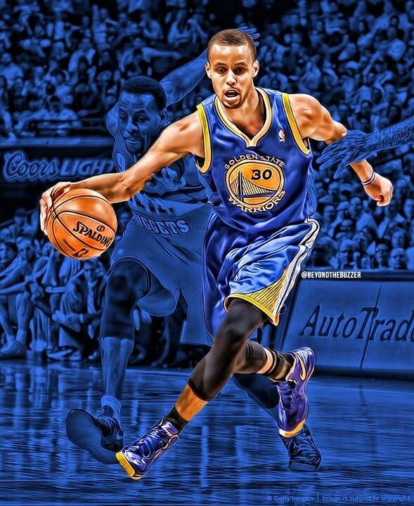 Stephen Curry Basketball: #LetsGoWarriors