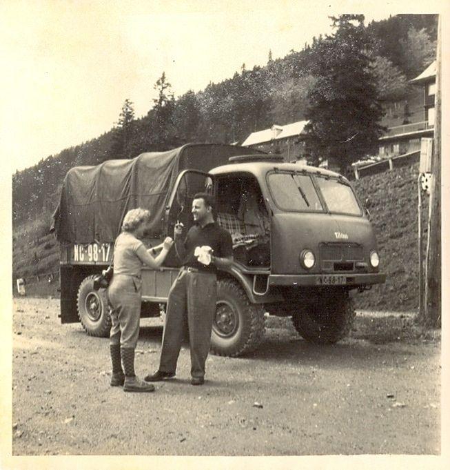 Tatra 805 (6/1956 Čertovice)