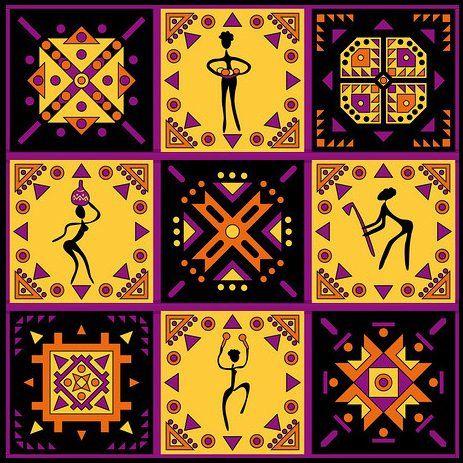 Оригинал схемы вышивки «Этнический орнамент-3»