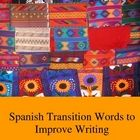 This list of 100 Spanish transition words for beginner, intermediate, AP students, and college students is a great tool to improve and formalize st...