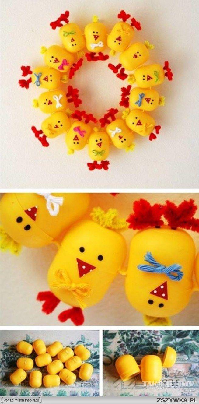 Zobacz zdjęcie Wielkanocny wieniec dla dziecka w pełnej rozdzielczości