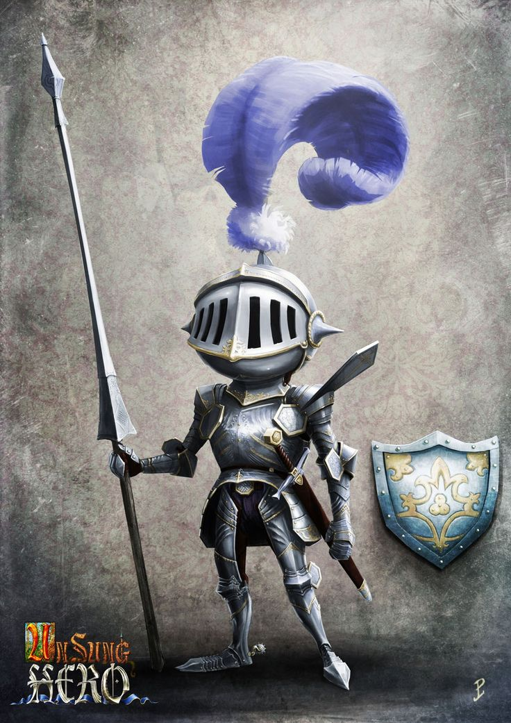 Unsung Hero: Knight Picture  (2d, character, knight, hero, fantasy)