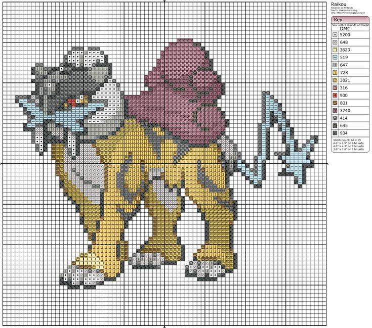 168 Best Pokémon Cross Stitch Patterns Images On Pinterest