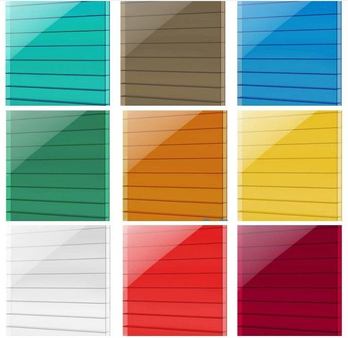 colored polycarbonate sheet clear and colored polycarbonate corrugated plastic roofing sheets