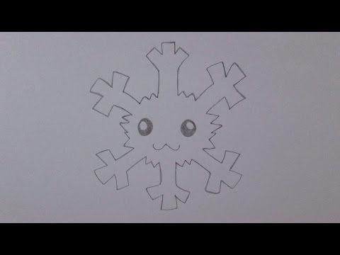 Como desenhar um floco de neve - YouTube