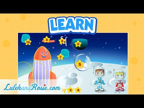 Let's learn numbers. Learn to count from 0 to 10. Numbers for children. LulekandRosie.com