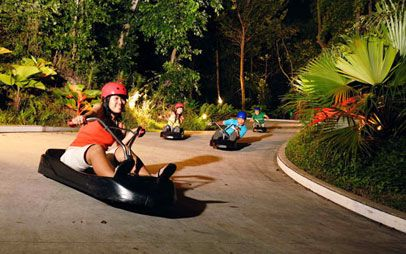 Atraksi: ingin memacu adrenalin Anda? tidak salah jika memilih Skyline Luge Sentosa... Let's play...!!! check disini http://www.sentosa.com.sg/en/attractions/imbiah-lookout/sentosa-luge-skyride/ #SGTravelBuddy