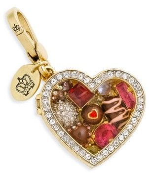 valentines charm, juicy couture, juicy, charm,