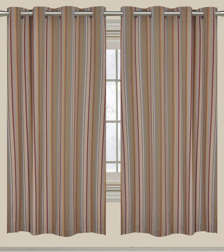 Multicoloured Cotton Striped Long Door Curtain #indianroots #homedecor #curtain #doorcurtain #cotton #striped