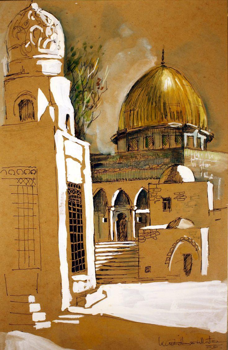 Kamal Boullata - Palestinian Artist. THE LIBYAN Esther Kofod www.estherkofod.com