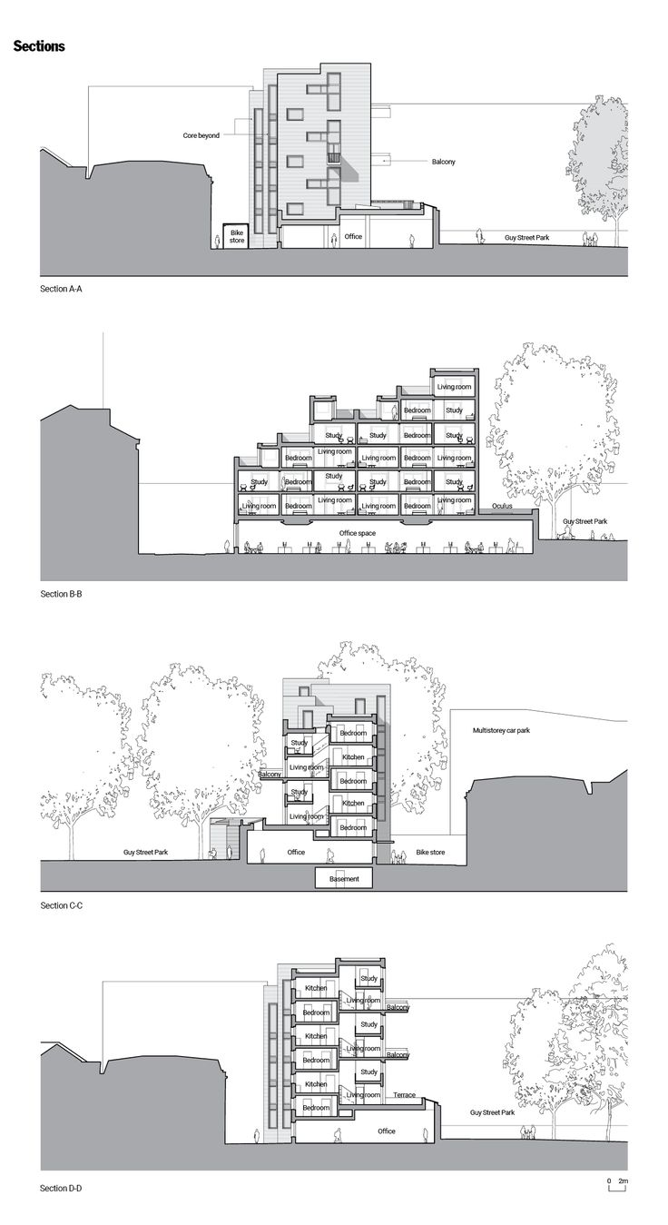 20 Best Architectural News Images On Pinterest Architecture Weston Wiring Diagram Block Party Ahmms Street Apartment And Office Building Architects Journal