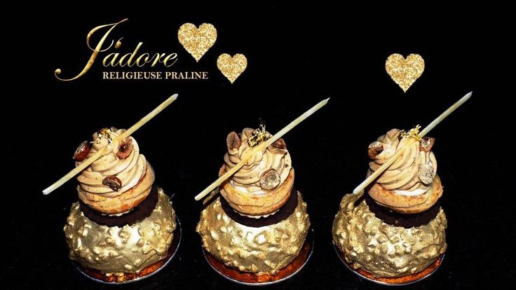 Louis Sergeant Sweet Couture. Patisserie. Religieuse