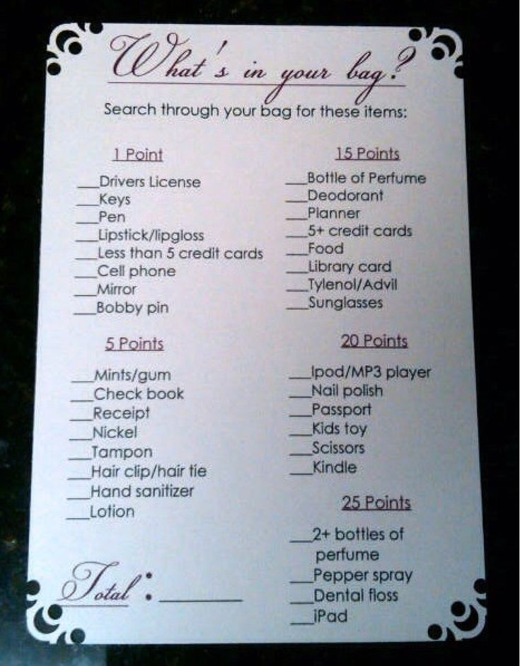 "Great ""purse scavenger hunt"" for Thirty-One parties!"