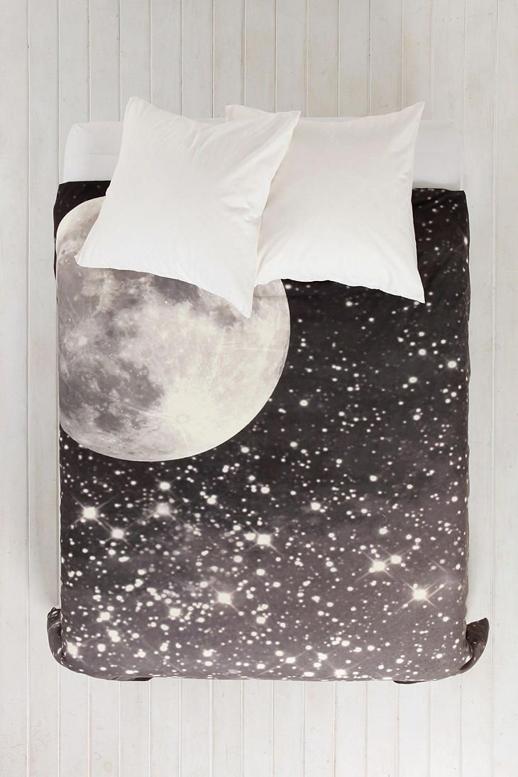Shannon Clark For DENY Love Under The Stars Duvet Cover - Urban Outfitters Perhaps one day when I stop loving my gray duvet
