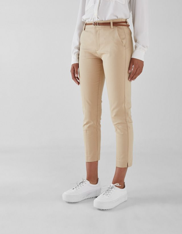 Pantalones Ropa Mujer Bershka Mexico Pantalones Chinos Mujer Pantalones Ropa