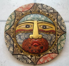 here comes the sun ♥ Indonesian sun mask