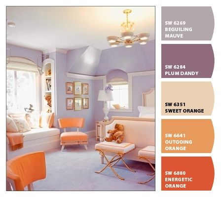 Paint colors from Chip It! by Sherwin-Williams | A peaceful bedroom