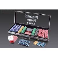 Pokerowe Żetony Piatnik z nominałami - komplet 500 sztuk  #poker #żetony