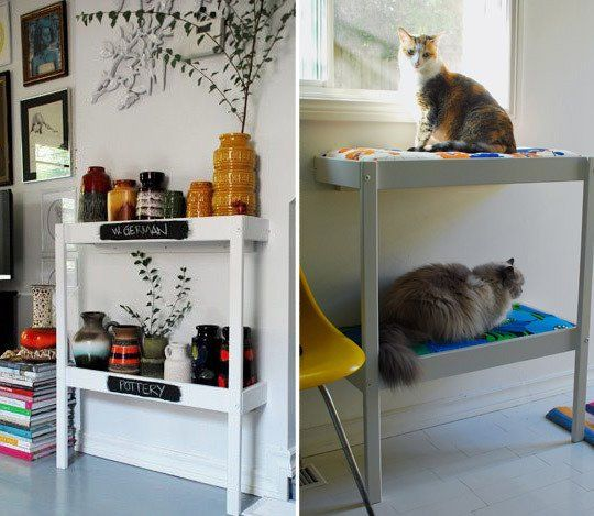 Upcycling Ideas | Moving On: 5 Ideas for Upcycling a Changing Table | Apartment Therapy