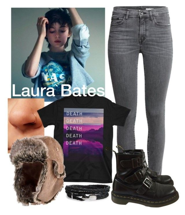 Laura Bates - outfit #1 by alexcriestosleep on Polyvore featuring polyvore, мода, style, Dr. Martens, San Diego Hat Co., MIANSAI, fashion and clothing