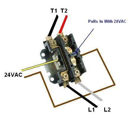 single pole contactor wiring diagram diagram outside. Black Bedroom Furniture Sets. Home Design Ideas
