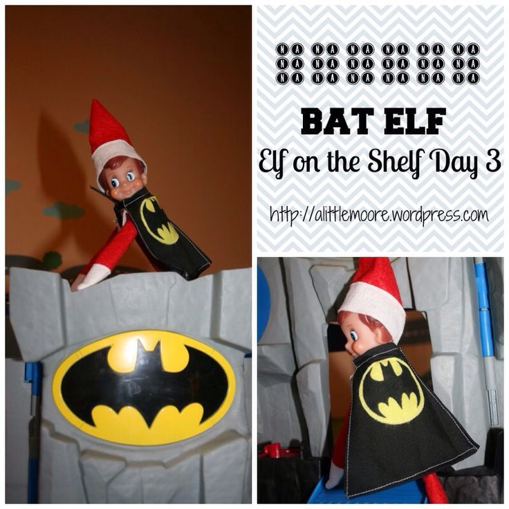 779 best elf on the shelf fun images on pinterest for Batman fairy door